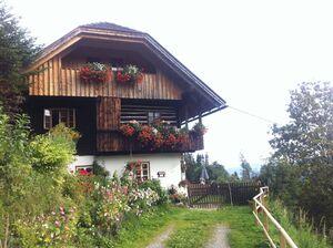 Mein Elternhaus am Fuße der Kärntner Nockberge