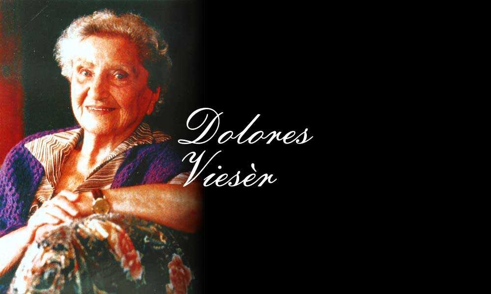 Headerbild: Dolores Viesèr [Bei dem Porträt handelt es sich um ein abfotografiertes Bild aus der Ausgabe Carinthia 2003, S.690 (Foto ca. 1995, privat). Foto: kk]